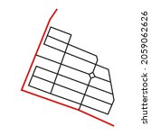 road network image map design... | Shutterstock .eps vector #2059062626