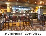 interior of a pub | Shutterstock . vector #205914610
