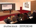 a vector illustration of... | Shutterstock .eps vector #205928248