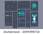 vector ui and infographic...