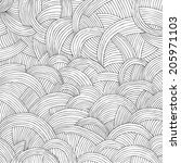 abstract hand drawn background   Shutterstock .eps vector #205971103