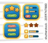game menu scene for status of...