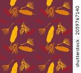 hipster tropical vector... | Shutterstock .eps vector #2059767140