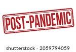 post pandemic grunge rubber... | Shutterstock .eps vector #2059794059