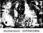 grunge texture is black and... | Shutterstock .eps vector #2059801886