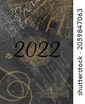 2022 poster template with tree... | Shutterstock .eps vector #2059847063
