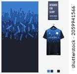 soccer jersey pattern design.... | Shutterstock .eps vector #2059941566