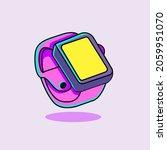 vector illustration of a watch... | Shutterstock .eps vector #2059951070