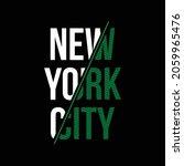 new york city typography t... | Shutterstock .eps vector #2059965476