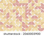 abstract geometric pattern... | Shutterstock .eps vector #2060003900