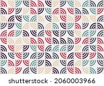 abstract geometric pattern... | Shutterstock .eps vector #2060003966