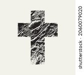 the sign of the christian cross ... | Shutterstock .eps vector #2060079020