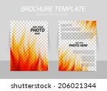 abstract background with flame...