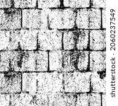 grunge black and white.... | Shutterstock .eps vector #2060237549