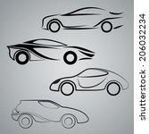 car | Shutterstock .eps vector #206032234