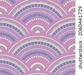 moroccan circle elements... | Shutterstock .eps vector #2060441729