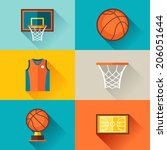 sports background with...   Shutterstock .eps vector #206051644