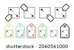 to postpone vector icon in tag...