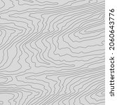 wooden wavy pattern. tree fiber ... | Shutterstock .eps vector #2060643776