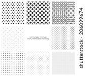 simple polka dots patterns ... | Shutterstock .eps vector #206099674