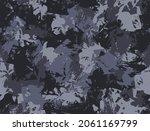 grunge urban camouflage  black... | Shutterstock .eps vector #2061169799