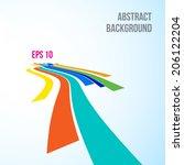 road symbol  vector illustration   Shutterstock .eps vector #206122204