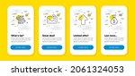 vector set of upload  cashback...