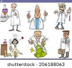 cartoon vector illustration of... | Shutterstock .eps vector #206188063