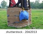 hot air baloon and basket ... | Shutterstock . vector #2062013