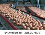 Fresh Brown Eggs On A...