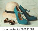 Retro Style Image Of Female...