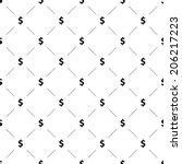 Vector Seamless Pattern  Money...