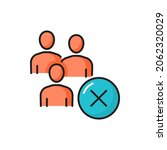 rejection and decline mark ... | Shutterstock .eps vector #2062320029