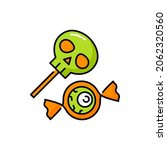 halloween candy sweets lolly... | Shutterstock .eps vector #2062320560