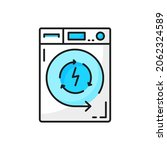 electric washing or drying... | Shutterstock .eps vector #2062324589