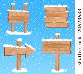 winter sign vector | Shutterstock .eps vector #20623633