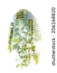 green building   in camera... | Shutterstock . vector #206268820