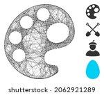 vector net palette. geometric...   Shutterstock .eps vector #2062921289