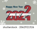 new year's card 2022.... | Shutterstock .eps vector #2062921526