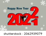 new year's card 2022. an... | Shutterstock .eps vector #2062939079