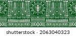 ikat geometric folklore...   Shutterstock .eps vector #2063040323