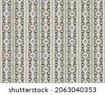 ikat geometric folklore...   Shutterstock .eps vector #2063040353
