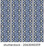 ikat geometric folklore...   Shutterstock .eps vector #2063040359