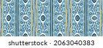 ikat geometric folklore...   Shutterstock .eps vector #2063040383