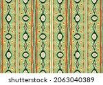 ikat geometric folklore...   Shutterstock .eps vector #2063040389