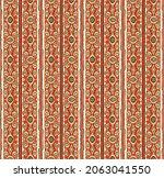 ikat geometric folklore...   Shutterstock .eps vector #2063041550