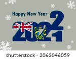 new year's card 2022. it... | Shutterstock .eps vector #2063046059