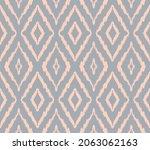ikat geometric folklore...   Shutterstock .eps vector #2063062163