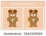 cute dog cartoon character.... | Shutterstock .eps vector #2063105033
