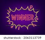 comic speech bubbles with text... | Shutterstock .eps vector #2063113739